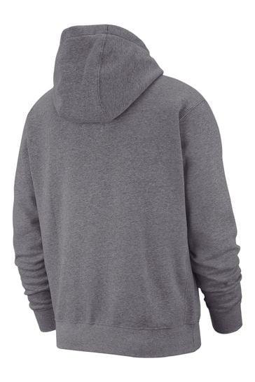 Nike Club Zip Through Hoodie