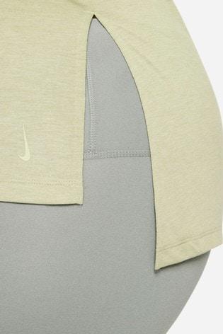 Nike Curve Green Yoga T-Shirt