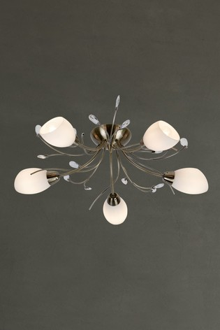 Doleen 5 Light Flush Fitting by Searchlight