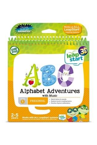 Leapfrog Alphabet Adventures Activity Book 460603