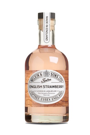 English Strawberry Vodka Liqueur 35cl by Tiptree