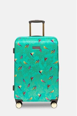 Sara Miller Birds Print Suitcase Medium