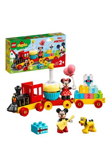 LEGO 10941 DUPLO Disney Mickey & Minnie Birthday Train Toy