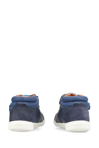 Start-Rite Frisbee Navy Leather Shoes