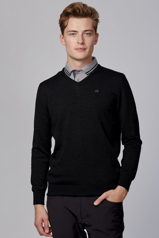Calvin Klein Golf Merino Sweat Top