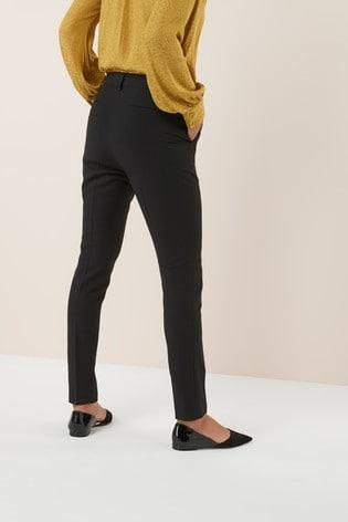Black Slim Trousers