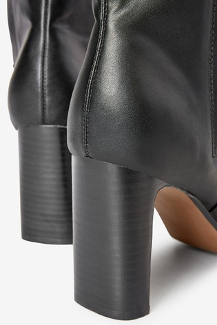 Buy Forever Comfort® Feature Heel Knee High Boots from Next