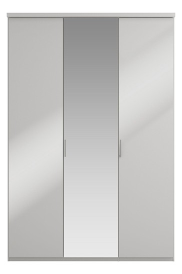 Peyton Grey Medium Hinged Wardrobe