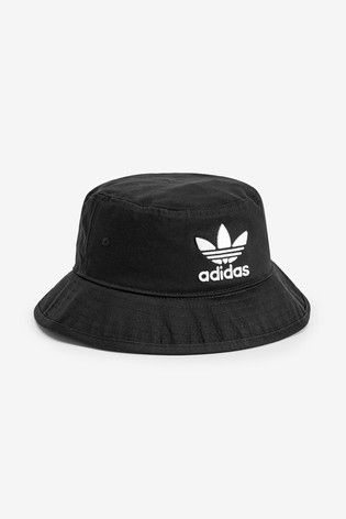 adidas Originals Kids Black Bucket Hat