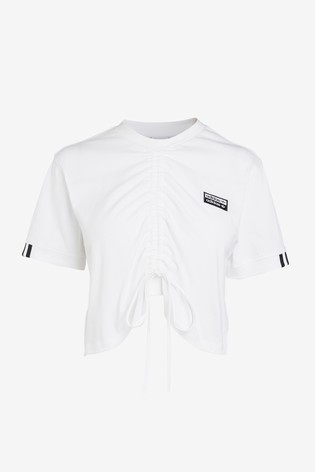 adidas Originals R.Y.V Ruched T Shirt