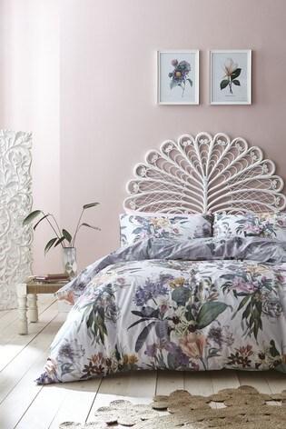 Accessorize Kensington Floral Cotton Duvet Cover And Pillowcase Set