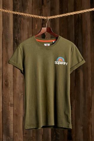 Superdry Classic Logo Woodstock T-Shirt