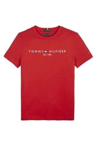 Tommy Hilfiger Red Essential T-Shirt