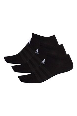 adidas Kids Black Low Trainer Socks 3 Pack