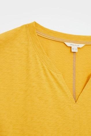 White Stuff Nelly Notch Neck T-Shirt