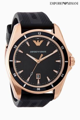 Emporio Armani Rubber Watch