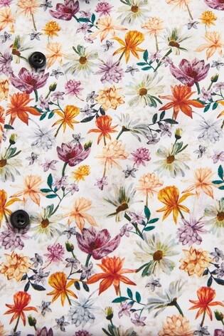 Floral Slim Fit Print Shirt