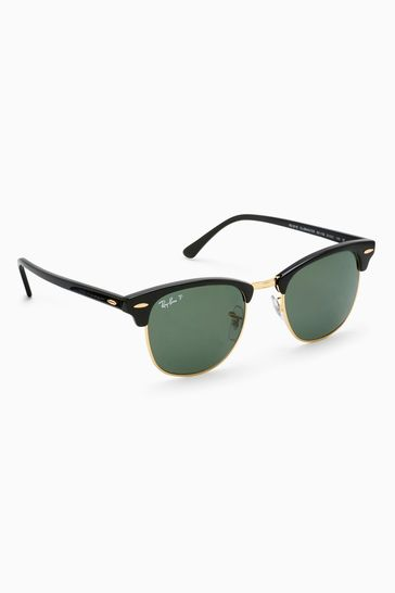 Ray-Ban® Polarised Clubmaster Sunglasses