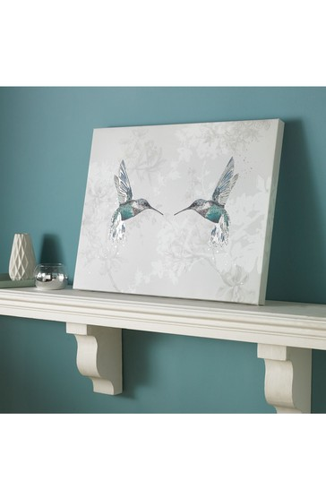 Hummingbirds Canvas by Art For The Home