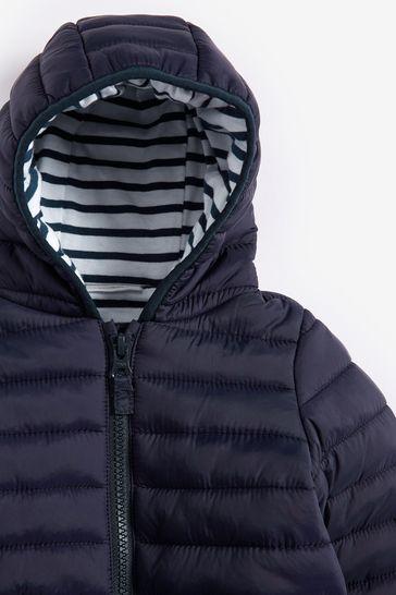 Navy Hooded Jacket (0mths-2yrs)