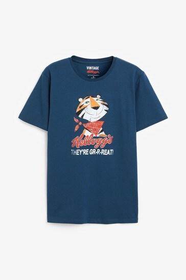 Navy Kellogg's Licence T-Shirt