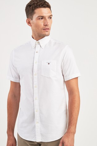 GANT Short Sleeved Oxford Shirt