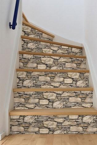 NuWalls Hadrian Stone Self Adhesive Wallpaper