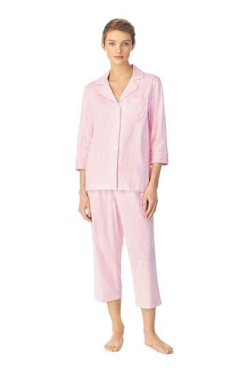 Lauren Ralph Lauren® Stripe Jersey Pyjama Set