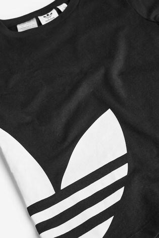 adidas Originals Little Kids Black T-Shirt And Shorts Set