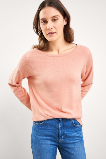 White Stuff Pink Natasha Jumper