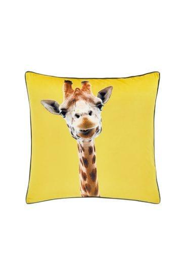 Catherine Lansfield Giraffe Cushion
