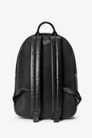 Emporio Armani Black Backpack