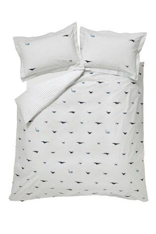 Sophie Allport Whale Seafoam Bed Set