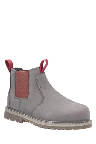 Amblers Safety Grey AS106 Sarah Slip-On Safety Boots
