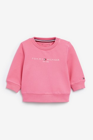 Tommy Hilfiger Baby Pink Cotton Tracksuit