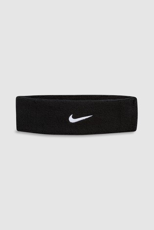 Nike Black Swoosh Headband