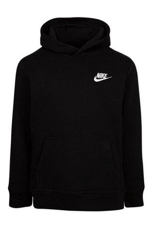 Nike Little Kids Black Fleece Hoodie