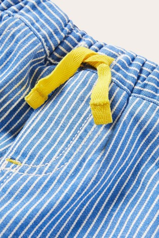 Boden Blue Roll-up Trousers
