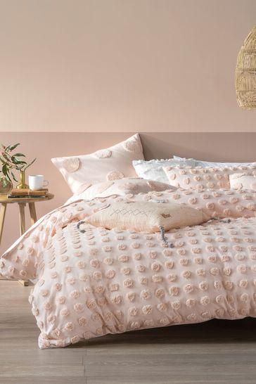 Linen House Orange Haze Duvet Cover And Pillowcase Set