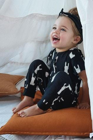 Myleene Klass Kids Bunny Print Jumpsuit