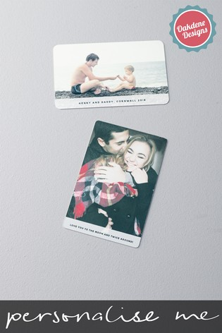Personalised Photo Upload Wallet Card by Oakdene Designs