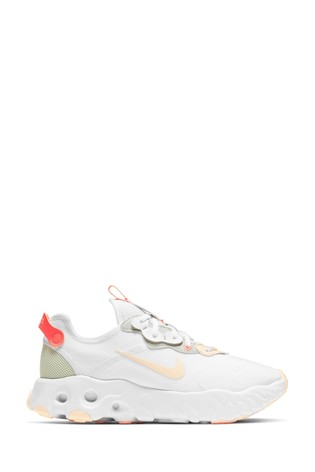 Nike White/Red React Art3mis Trainers