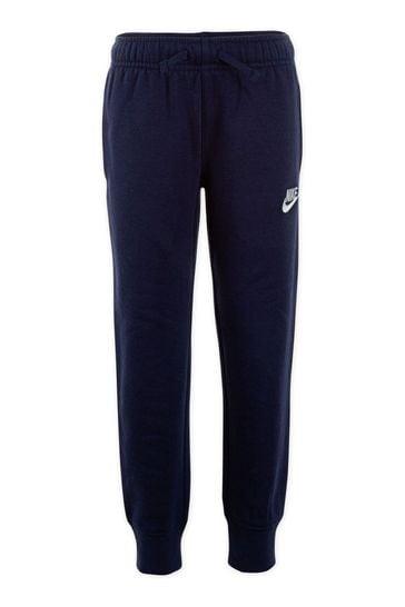 Nike Little Kids Navy Fleece Joggers