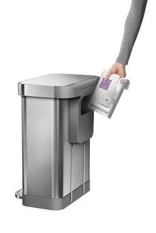 Simple Human Pocket Liner 45L Bin