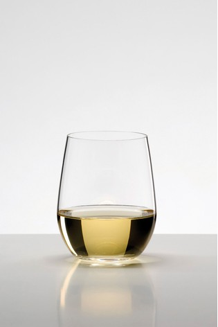 Set of 2 Riedel O Viognier Chardonnay Wine Tumblers