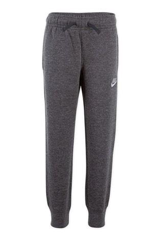 Nike Little Kids Grey Fleece Joggers