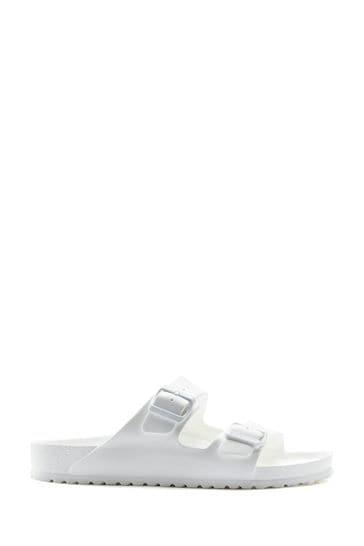 Birkenstock® White Arizona EVA Sandals