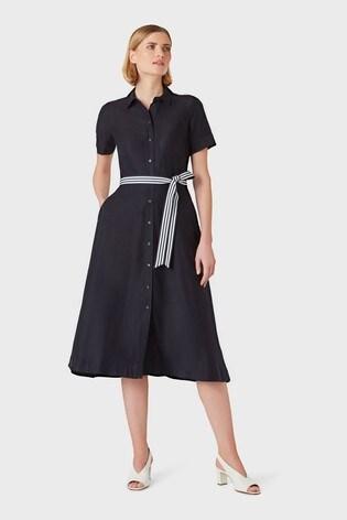 Hobbs Blue Rosaleen Dress