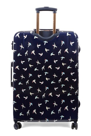 Oasis Hummingbird Print Large Suitcase