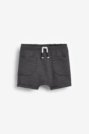 Multi Neutral 3 Pack Organic Cotton Shorts (0mths-2yrs)